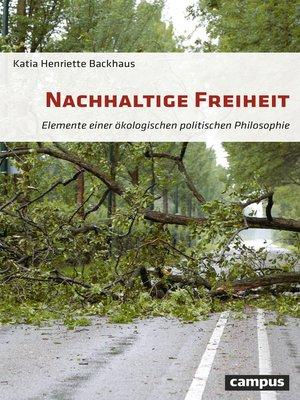 cover image of Nachhaltige Freiheit