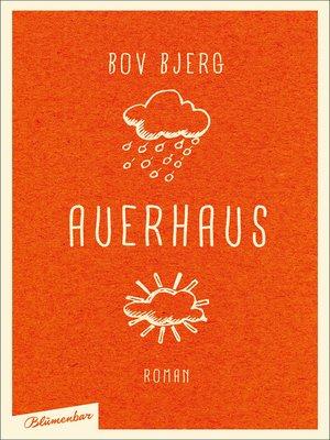 cover image of Auerhaus