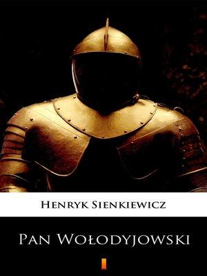 cover image of Pan Wołodyjowski
