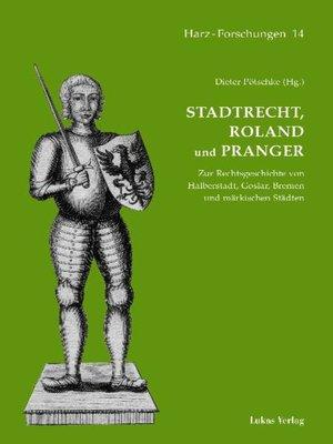 cover image of Stadtrecht, Roland und Pranger