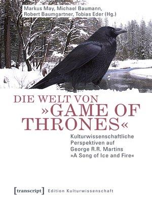 cover image of Die Welt von »Game of Thrones«