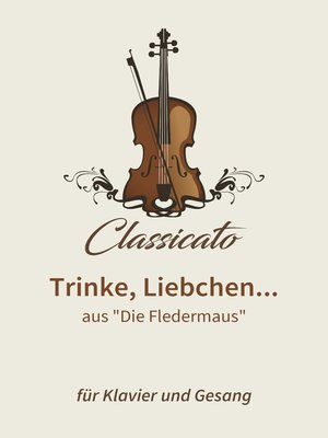 cover image of Trinke, Liebchen...