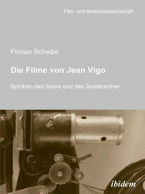 cover image of Die Filme von Jean Vigo