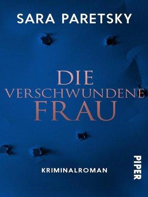 cover image of Die verschwundene Frau