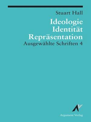 cover image of Ideologie, Identität, Repräsentation