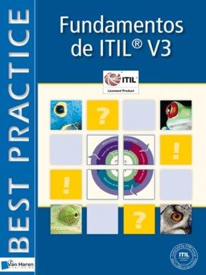 cover image of Fundamentos de  ITIL® V3