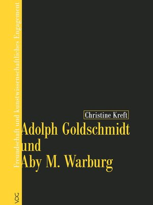 cover image of Adolph Goldschmidt und Aby M. Warburg