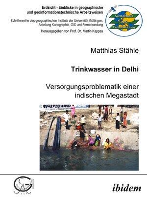 cover image of Trinkwasser in Delhi