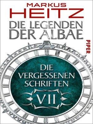 cover image of Die Vergessenen Schriften 7