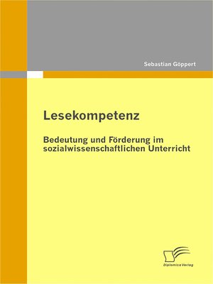 cover image of Lesekompetenz