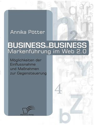 cover image of Business-to-Business Markenführung im Web 2.0