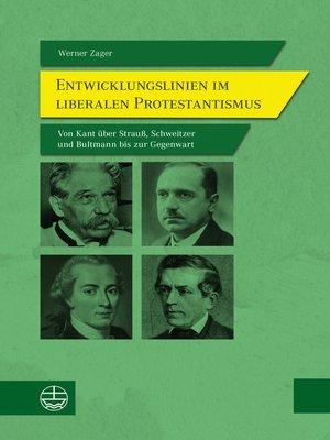 cover image of Entwicklungslinien im liberalen Protestantismus