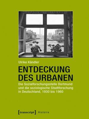 cover image of Entdeckung des Urbanen