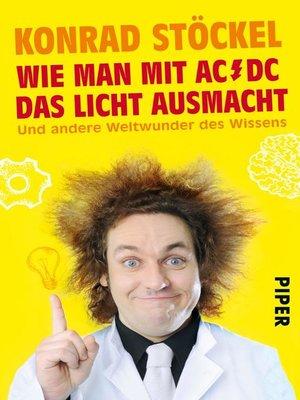cover image of Wie man mit AC/DC das Licht ausmacht