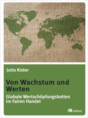cover image of Von Wachstum und Werten