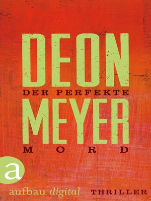 cover image of Der perfekte Mord