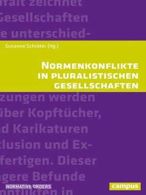 cover image of Normenkonflikte in pluralistischen Gesellschaften