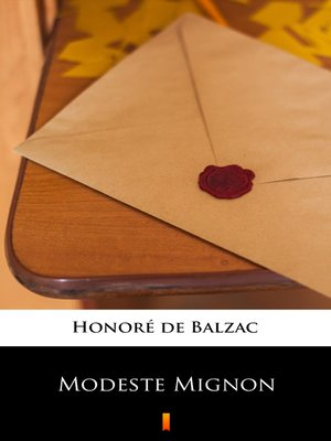 cover image of Modeste Mignon