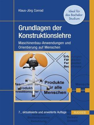 cover image of Grundlagen der Konstruktionslehre