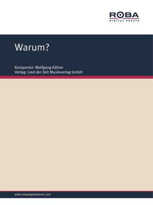 cover image of Warum?