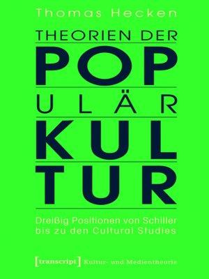 cover image of Theorien der Populärkultur