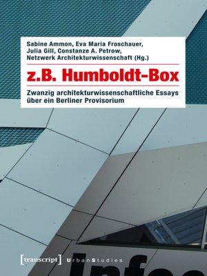cover image of z.B. Humboldt-Box