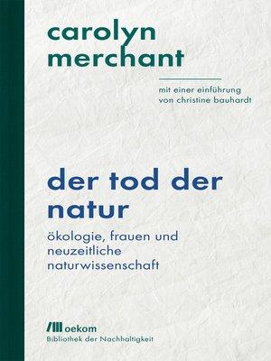 cover image of Der Tod der Natur