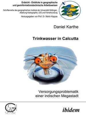 cover image of Trinkwasser in Calcutta