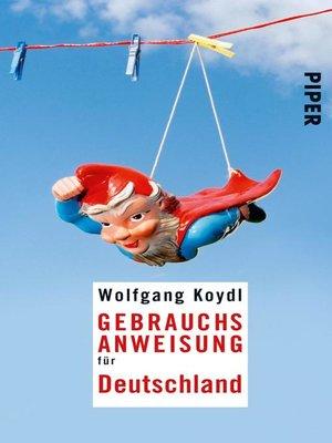 cover image of Gebrauchsanweisung für Deutschland