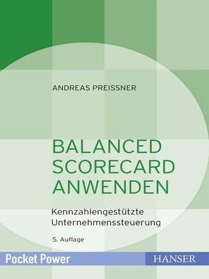 cover image of Balanced Scorecard anwenden