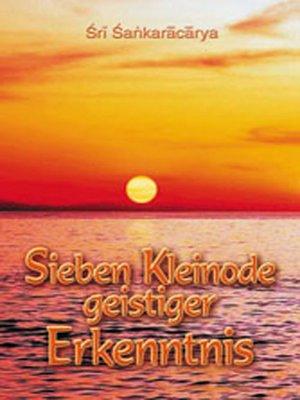 cover image of Sieben Kleinode geistiger Erkenntnis
