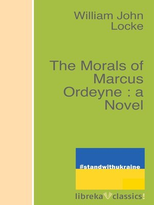 cover image of The Morals of Marcus Ordeyne