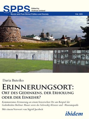 cover image of Erinnerungsort