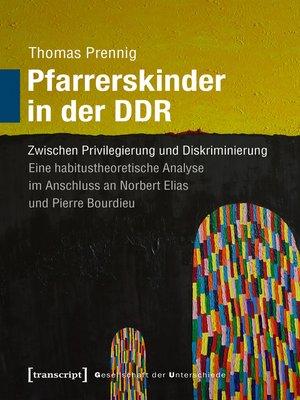 cover image of Pfarrerskinder in der DDR
