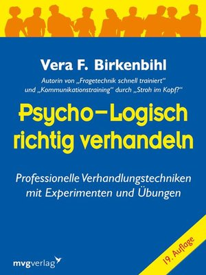 cover image of Psycho-logisch richtig verhandeln