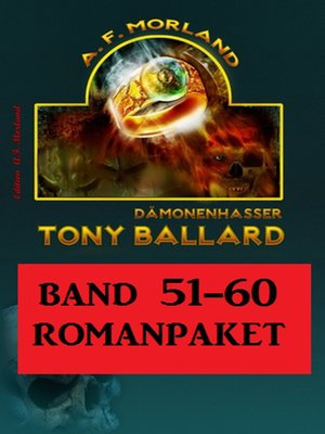 cover image of Tony Ballard Band 51 bis 60 Romanpaket