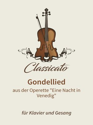 cover image of Gondellied