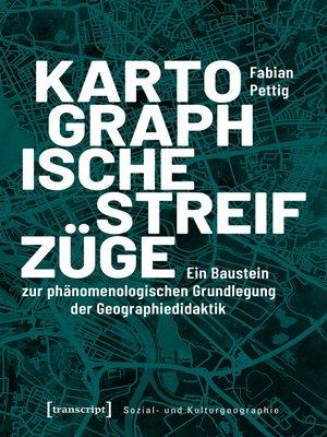 cover image of Kartographische Streifzüge