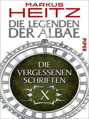 cover image of Die Vergessenen Schriften 10