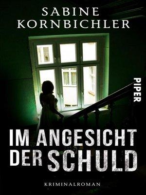 cover image of Im Angesicht der Schuld