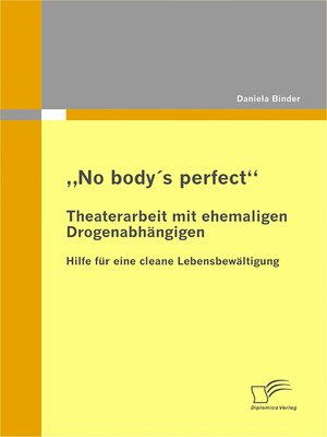 "cover image of ""No body's perfect"""