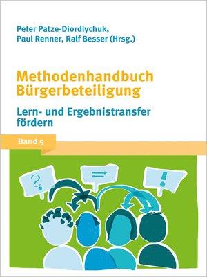 cover image of Serie Methodenhandbuch Bürgerbeteiligung, Buch 5
