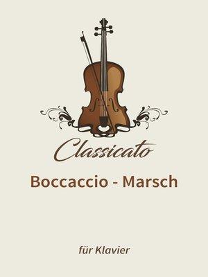cover image of Boccaccio--Marsch