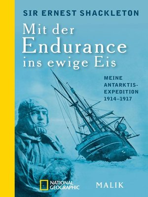 cover image of Mit der Endurance ins ewige Eis