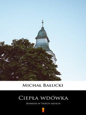 cover image of Ciepła wdówka