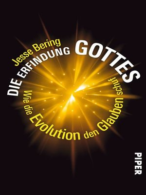 cover image of Die Erfindung Gottes