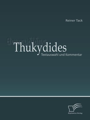cover image of Thukydides