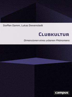 cover image of Clubkultur
