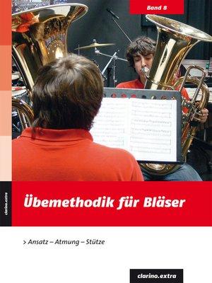 cover image of Übemethodik für Bläser