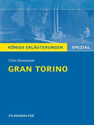 cover image of Gran Torino. Königs Erläuterungen.